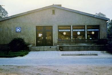 Konsumgebäude 1986
